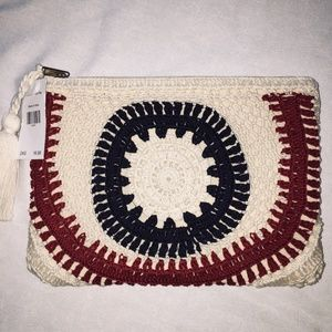 COSMETIC BAG - RED/WHITE/BLUE